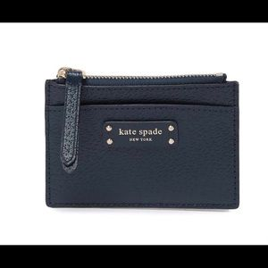 NEW❤️ kate spade New York jeanne small zip leather